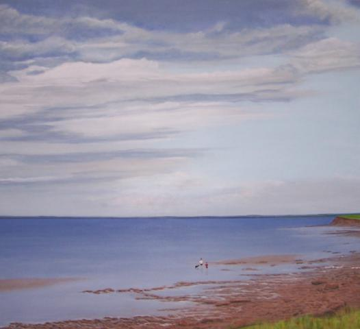 """Summer Storm Approaching-Northumberland Strait"" 2009"