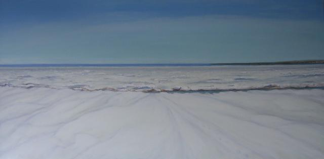 """Pack Ice-Northumberland Strait"" 2009"